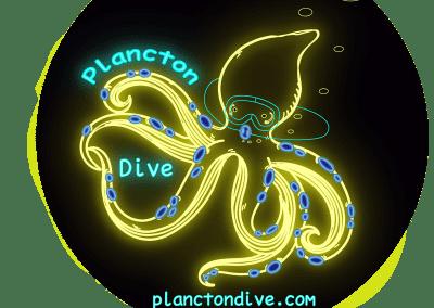 Bucea tu mundo Plancton Dive Logo boceto planctondive.com